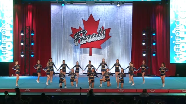 CheerForce WolfPack  Prodigy - Canadian Finals Level 4