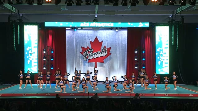 ACE Athletics  Renegades - Canadian Finals Level 4