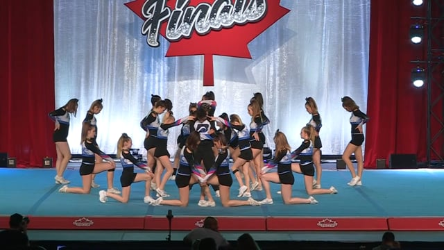 Bluewater Cheer Athletics  Tidal Wave - Canadian Finals Level 4.2
