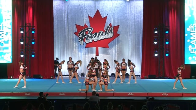 Flames All Stars  Smoke - Canadian Finals Level 4.2