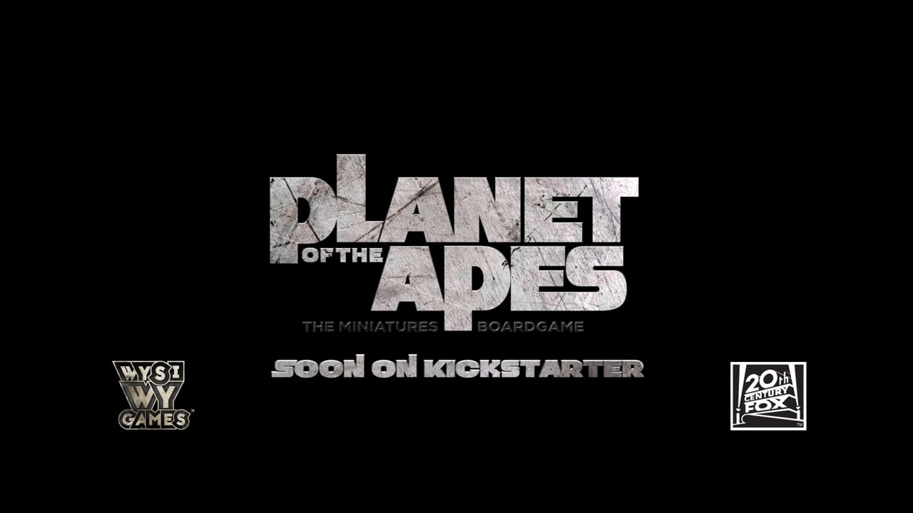 PLANET OF THE APES - WYSIWYG GAMES