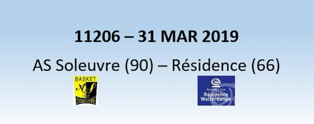 N1H 11206 AS Soleuvre (90) - Résidence Walferdange (66) 31/03/2019