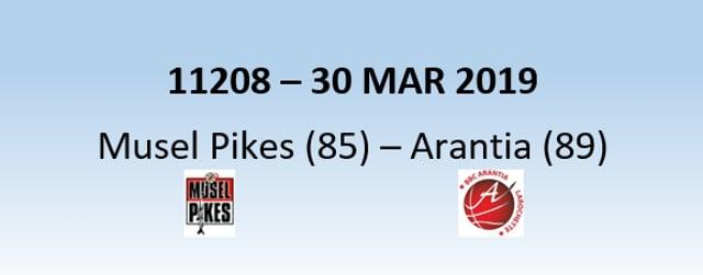 N1H 11208 Musel Pikes (85) - Arantia Larochette (89) 30/03/2019