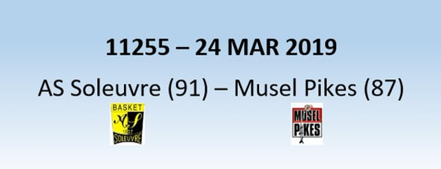 N1H 11255 AS Soleuvre (91) - Musel Pikes (87) 24/03/2019