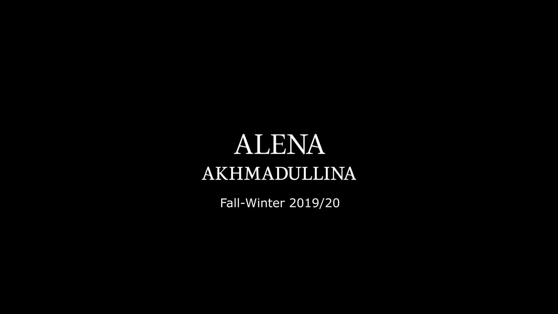 Alena Akhmadullina Fall-Winter 2019/20