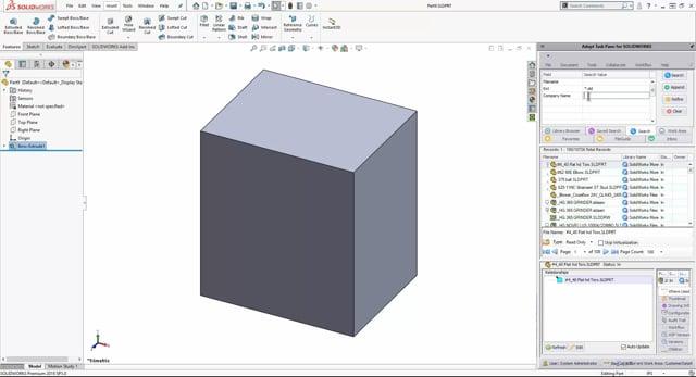 Adept Solidworks Integration