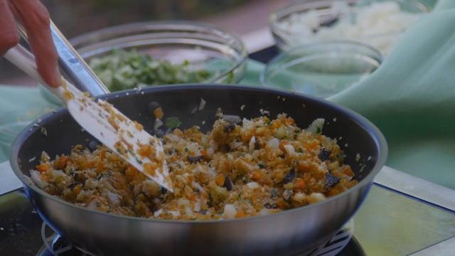 KPC Health & Wellness Program   Cauliflower Rice with Water Chestnuts