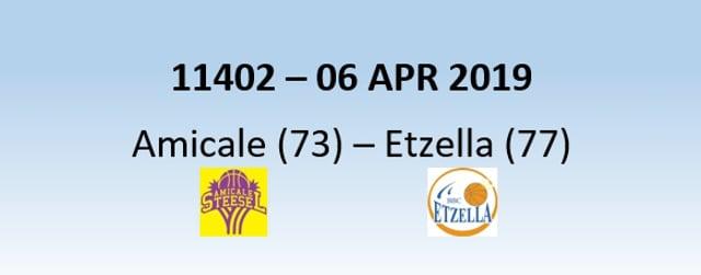 NH1 11402 Amicale (73) - Etzella Ettelbruck (77) 06/04/2019