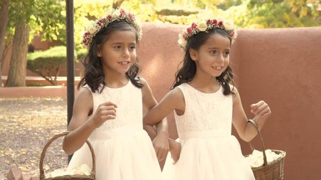 Christine + Hector Fall Wedding Highlights Teaser (5min) - Santa Fe, NM (Delancey St Foundation)