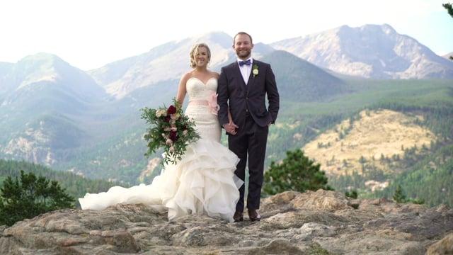 Rebecca + Wes Wedding Highlights Teaser - Rocky Mountain NP + SkyView @ Fall River Lodge, Estes Park CO - Aug 2018