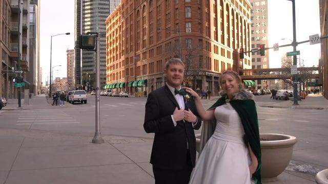 Sarah + Blaine Wedding Highlights Teaser (3min) - Historic Brown Palace - Denver CO
