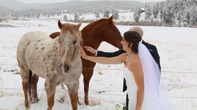 Amanda+Daniel Wedding Highlights - Deer Creek Valley Ranch, Conifer CO - 1min Teaser