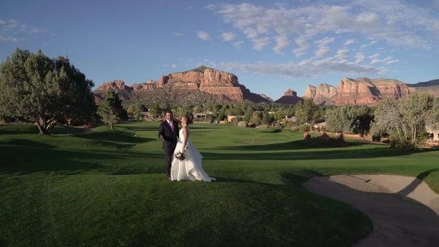 Mackenzie + Brad Wedding Highlights - Sedona Golf Course, AZ - 1min Teaser, p.2