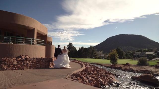 Mackenzie + Brad Wedding Highlights - Sedona Golf Course, AZ - 1min Teaser, p.1