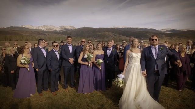 Blake+Katie Wedding Highlights Teaser, Devil's Thumb Ranch Wilderness, Winter Park CO