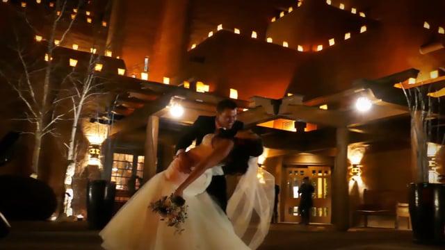 NY Eve Wedding Celebration - Loretto Resort and Chapel, Santa Fe NM - Natasha + Brandon Highlights Instagram Teaser - 1min