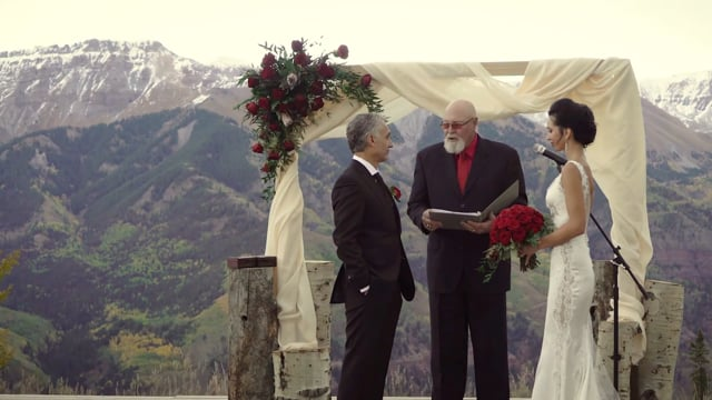 Ken + Tara Wedding Highlights Teaser (1 min) - San Sophia Overlook Ski Resort Lodge - Rocky Mountains, Telluride CO - Sept 2017