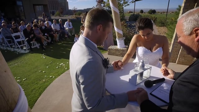 Casey + Megan Wedding Highlights (4K) - Sandia Golf Club Resort Casino + Events, Albuquerque, NM - Oct 2016