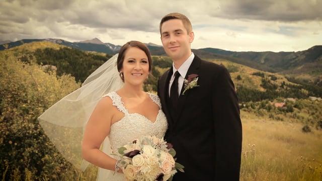 Allison + Matthew Wedding Highlights - Cordillera Lodge, Edwards (Vail) CO - Sept 2016