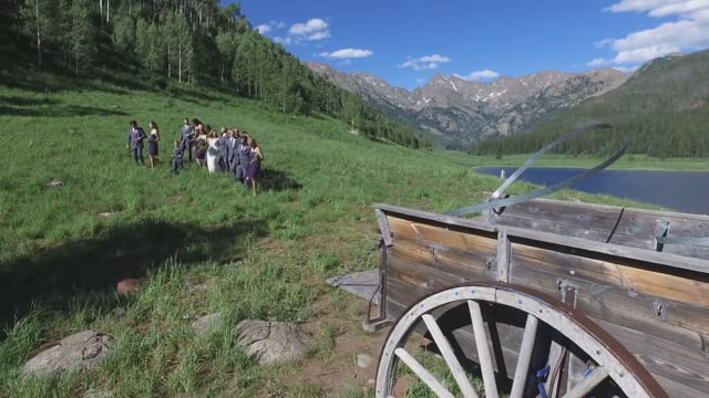 Grace + Steven - Wedding Highlights Teaser -  Piney Creek Ranch Historic Lodge - Nat'l Parks Wilderness, Vail CO - July 2016