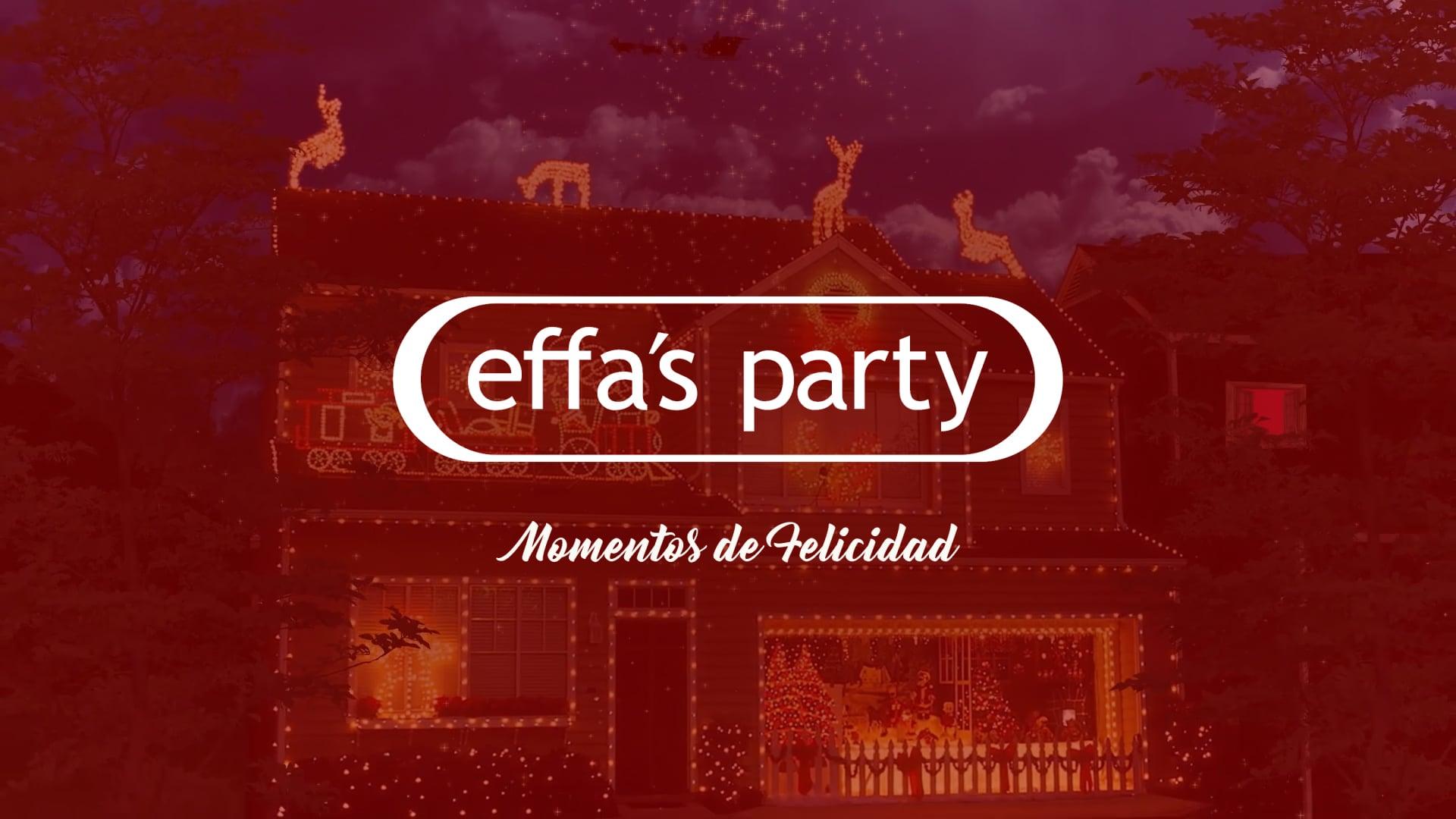 Effa's Party   Spot Navideño