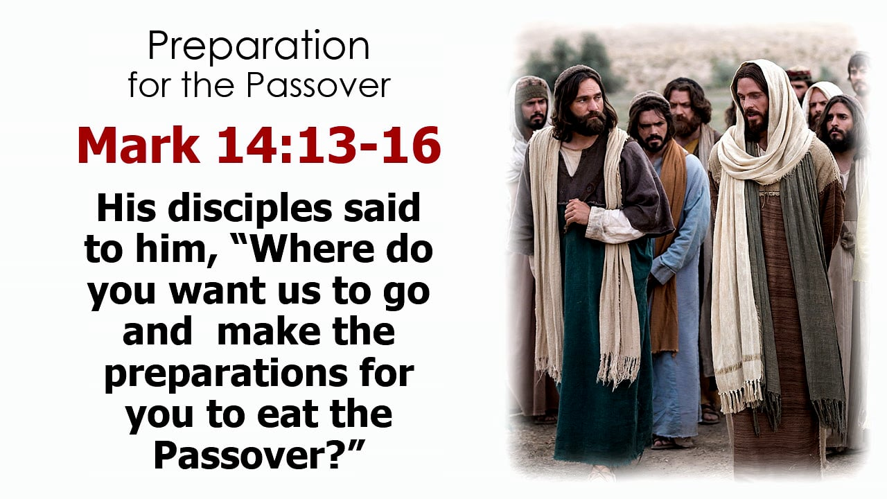Holy Week: Thursday & Friday (The Last Supper and Crucifixtion)