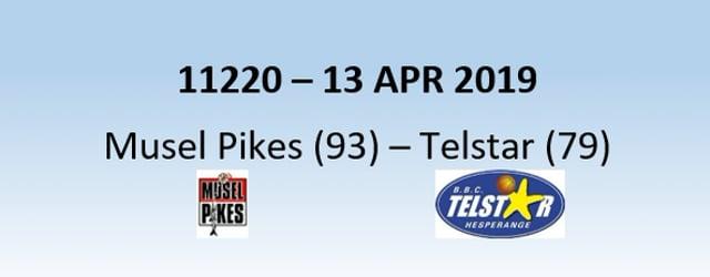 N1H  11220 Musel Pikes (93) - Telstar Hesperange (79) 13/04/2019