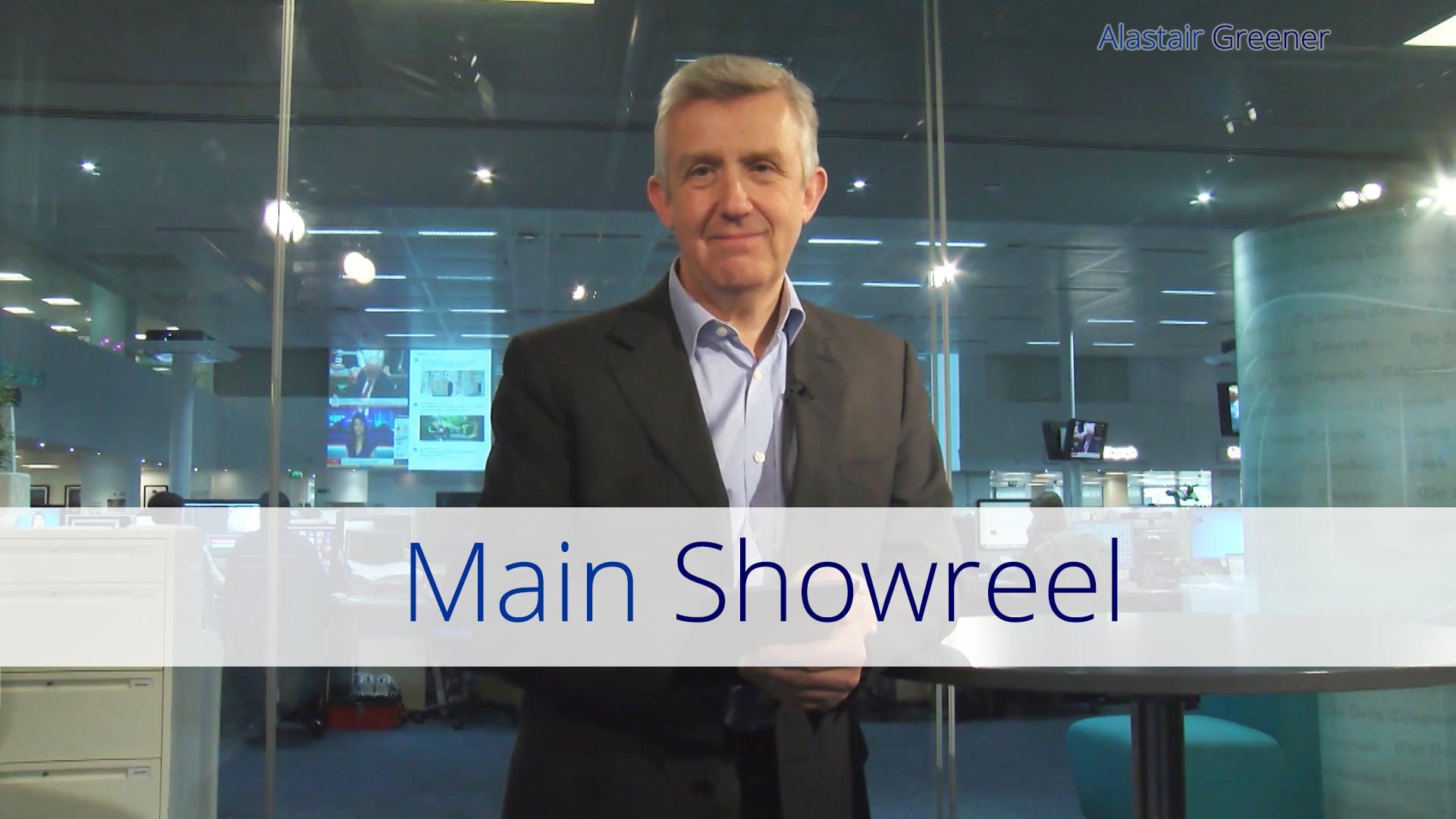 Alastair Greener - TV Presenter Showreel