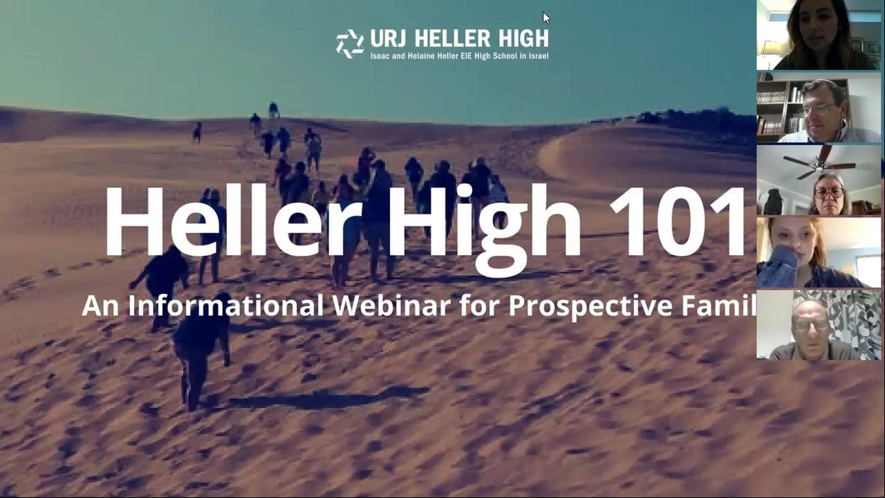 Heller High 101 - 3.11.2018