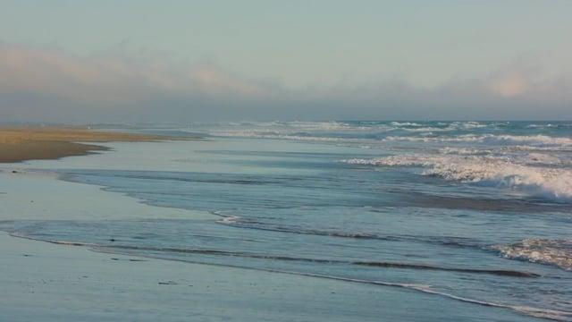 Evening Ocean Waves, Coastal Oregon - HDR