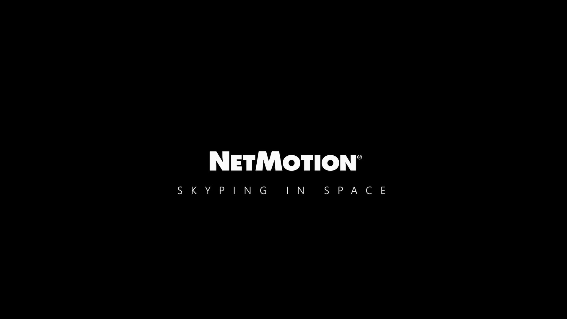 NetMotion Skyping in Space - Corporate