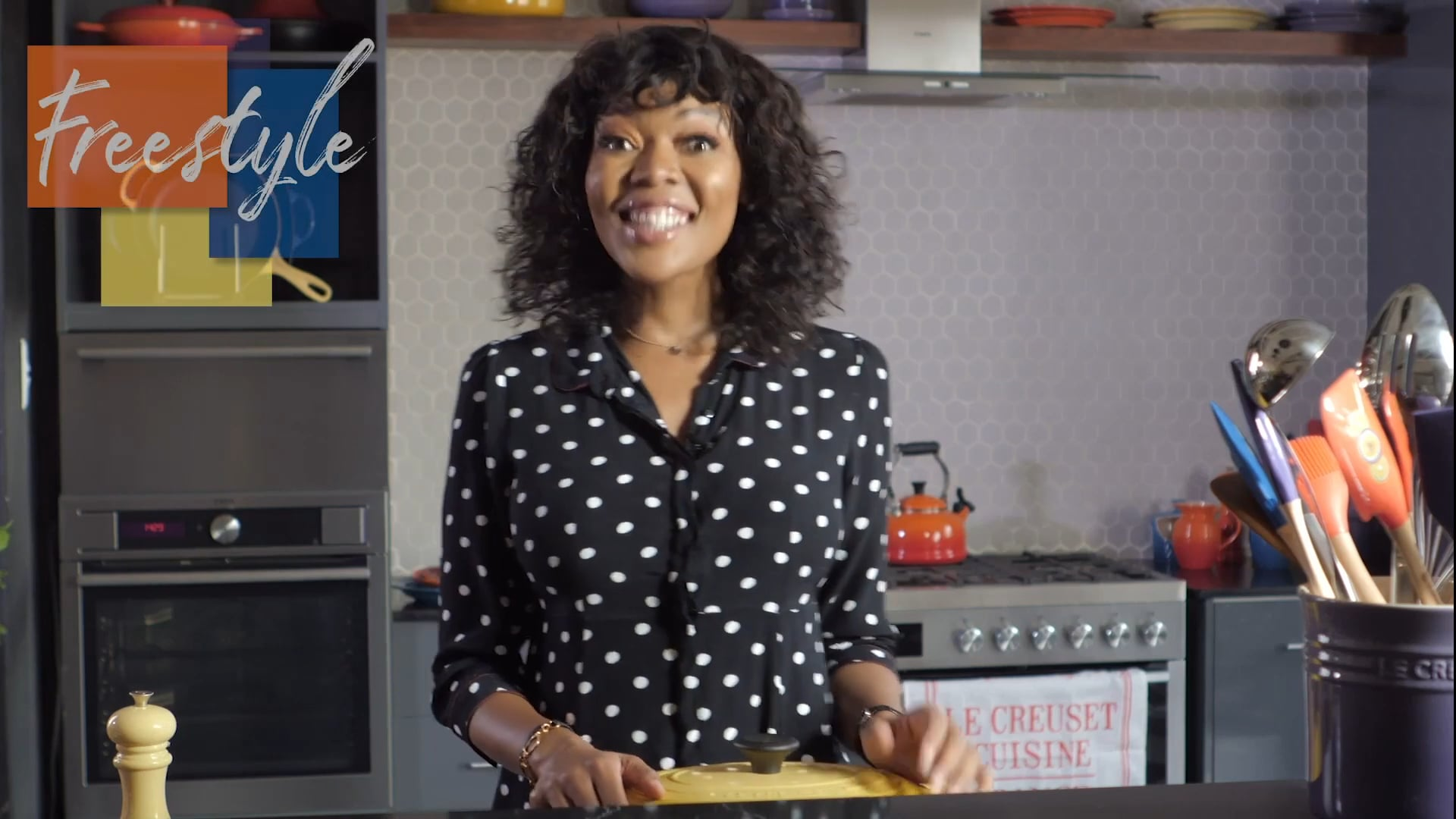Le Creuset  - Freestyle Recipe  Lamb Knuckle with Chef Nti