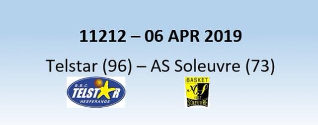 N1H 11212 Telstar Hesperange (96) - AS Soleuvre (73) 06/04/2019