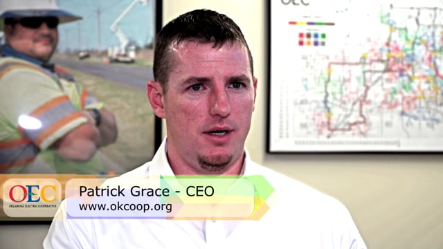 Oklahoma Electric CEO, Patrick Grace- Secure communications at Substations