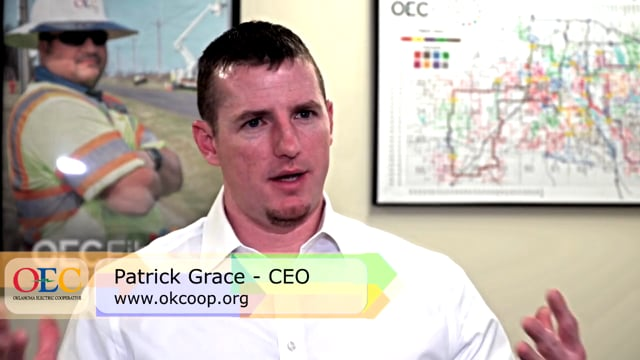 Oklahoma Electric CEO, Patrick Grace- Monetizing the co-op investment