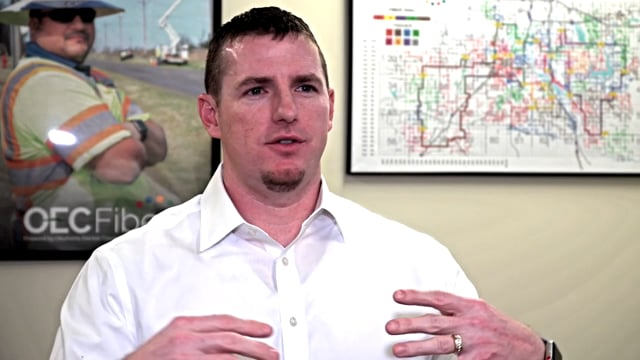 Oklahoma Electric, CEO Patrick Grace - Making Decision to build a fiber broadband network
