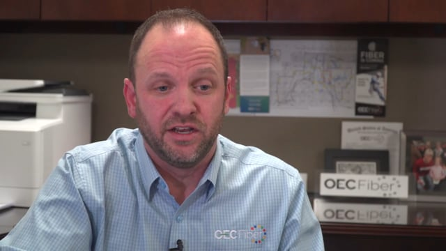 OEC Fiber President, David Goodspeed- Co-op connection with our consultant Conexon