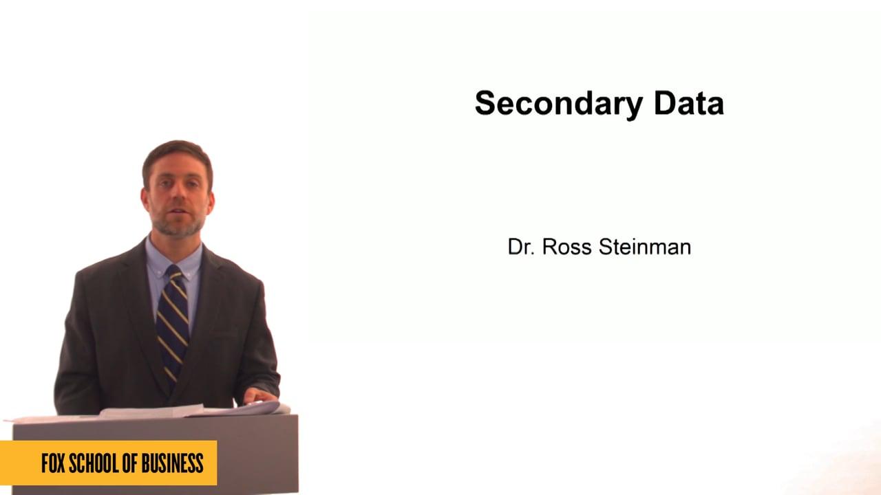 61331Secondary Data