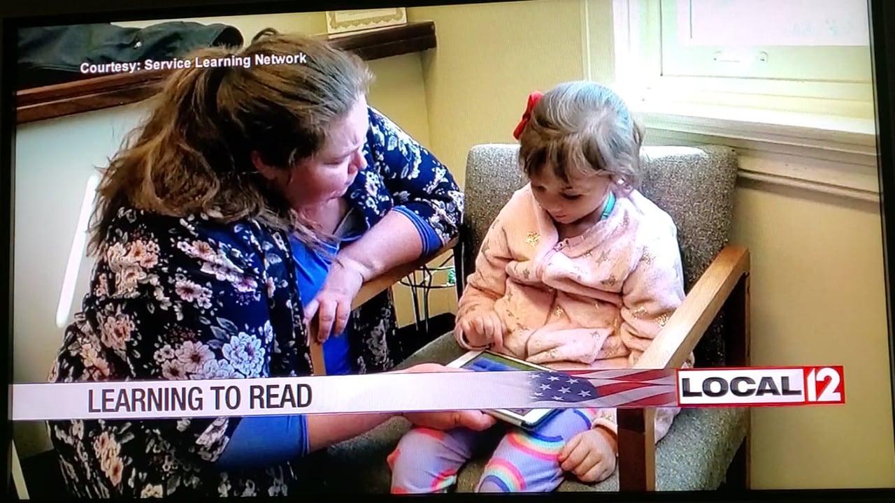 Covington reading program featured on Local 12