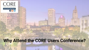 CORE Higher Education Annual Users Conference
