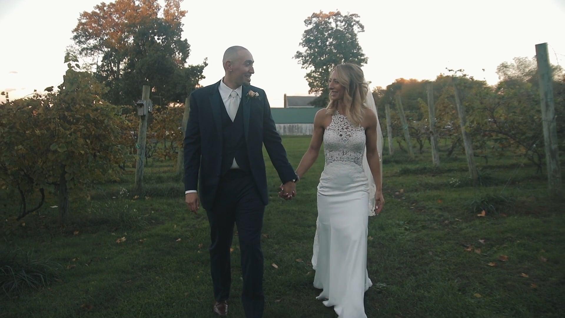 Priam Vineyards // Jessica + Rick // 10.13.18 // Wedding Film