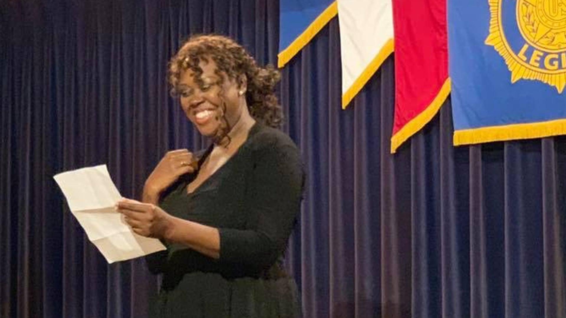 Testimonial  by Army Veteran Y'dhanna Daniels. Women Of Shakespeare Actor