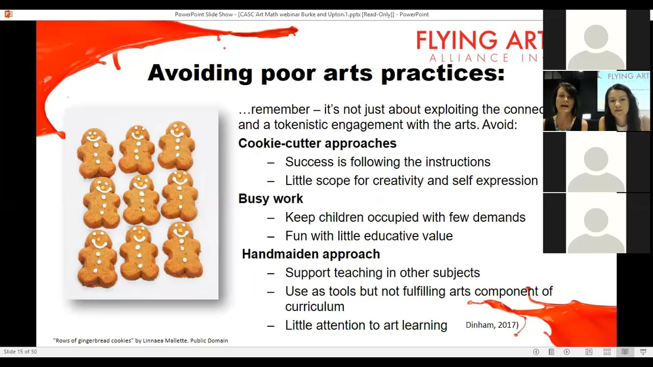 CASC - How to Connect Art Curriculum with Math