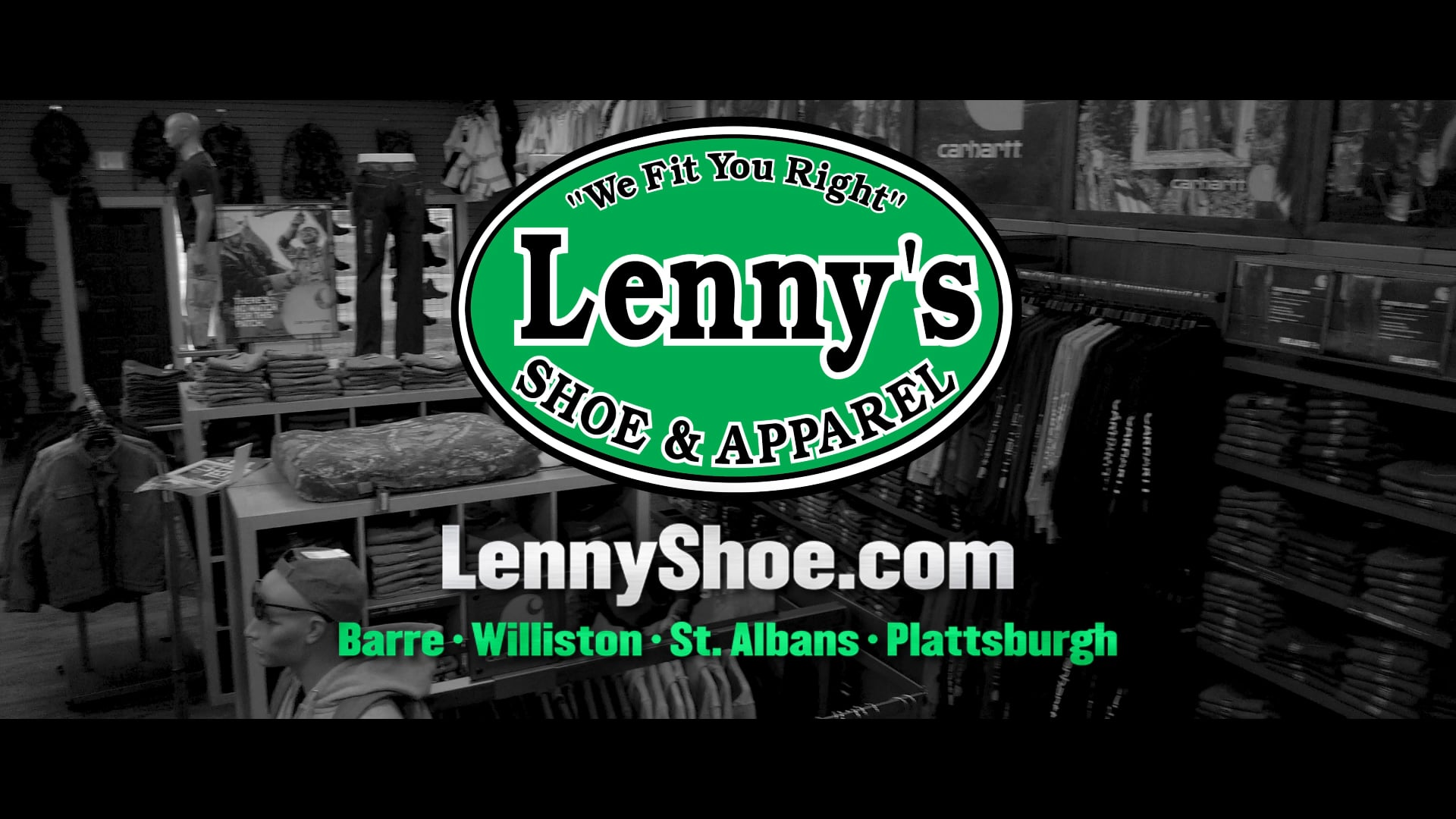 Lenny's Shoe & Apparel - Committed :30 TV