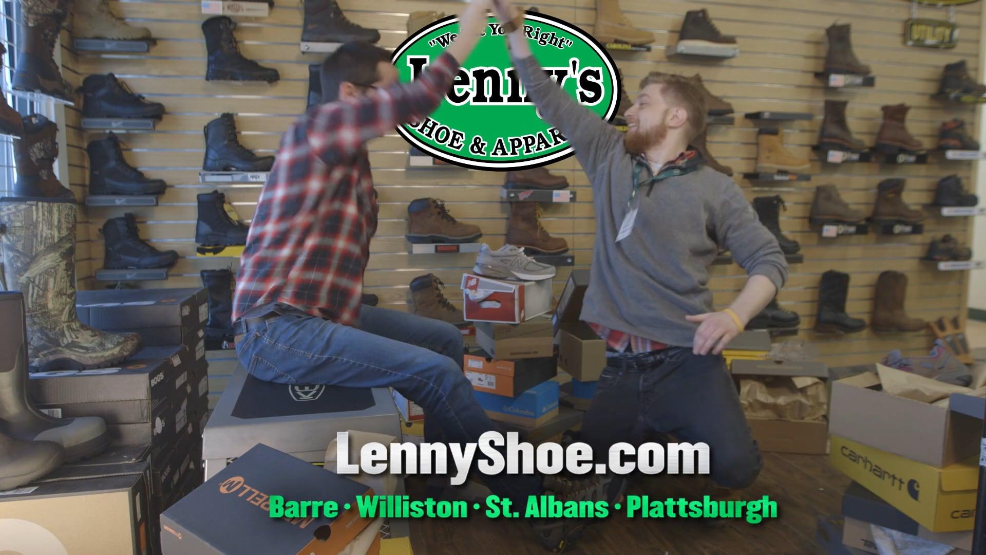 Lenny's Shoe & Apparel - Retail Locker Room :30 TV