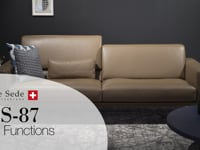 DS-87 sofa sectional - Video