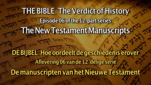 De Bijbel. Hoe oordeelt de geschiedenis erover - Aflevering...