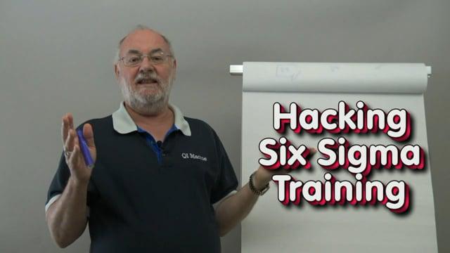 Agile - Hacking Six Sigma Training