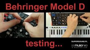 Behringer Model D