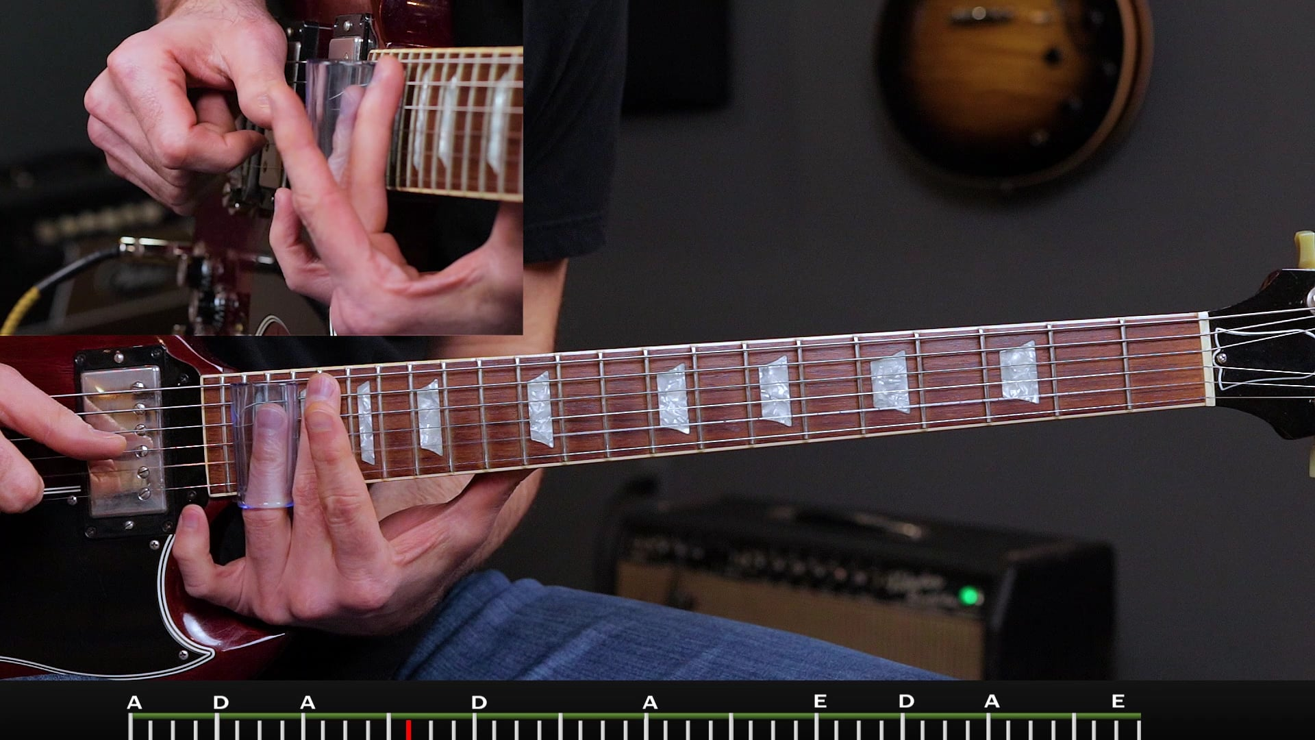 Slide 1 Open E Lesson 9 Slow Blues Solo